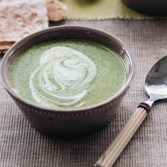 Рецепт Кавказский суп с зеленью