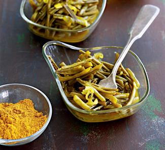 Рецепт Кисло-сладкая зеленая фасоль