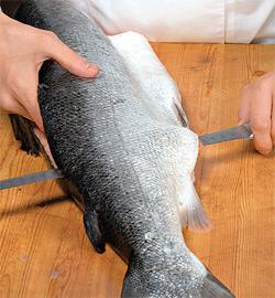 Рыбная бандероль. Шаг 1)