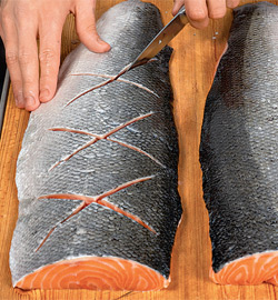 Рыбная бандероль. Шаг 2)