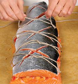 Рыбная бандероль. Шаг 5)