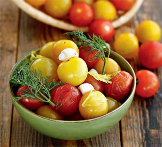 Рецепт Соленые помидоры черри
