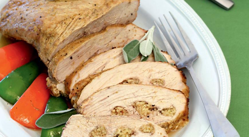Рецепт Имбирный окорок с арахисом