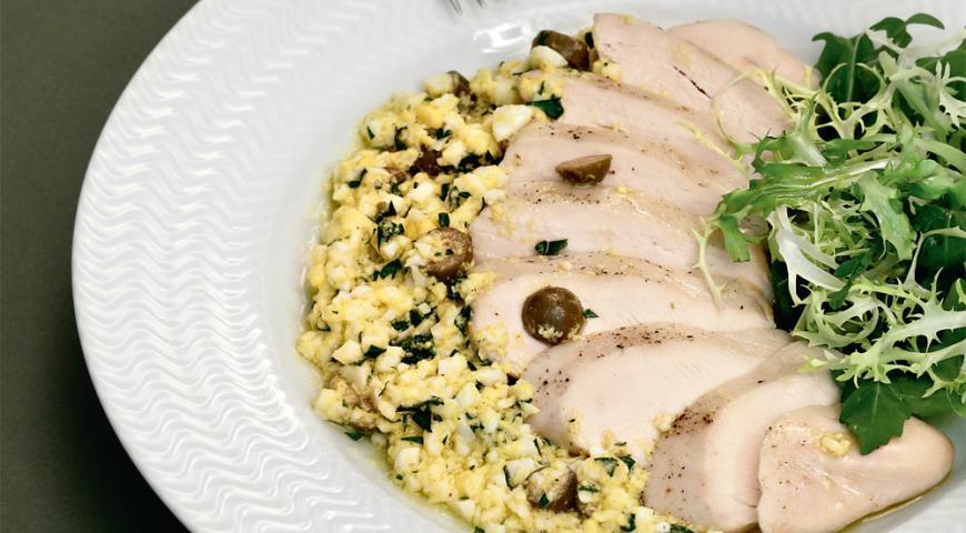Рецепт Куриные грудки с польским соусом