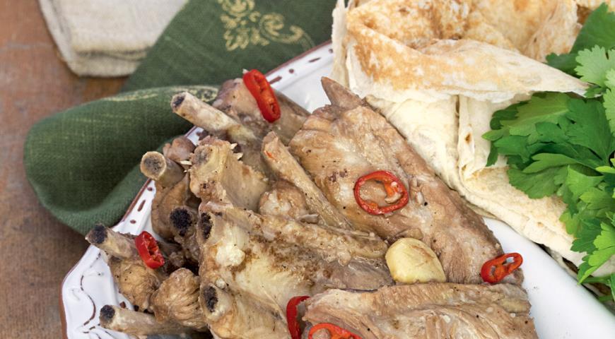 Рецепт Кисло-сладкие свиные ребрышки