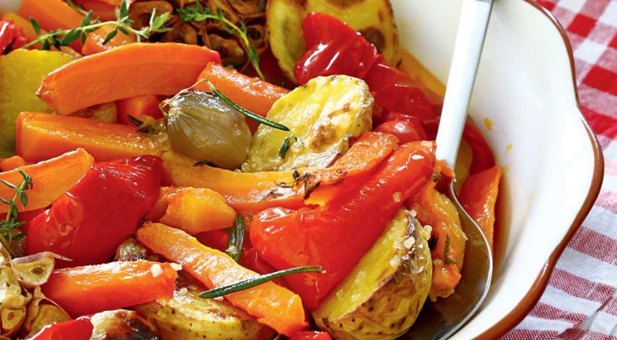 Овощные гарниры к мясу рецепты с фото
