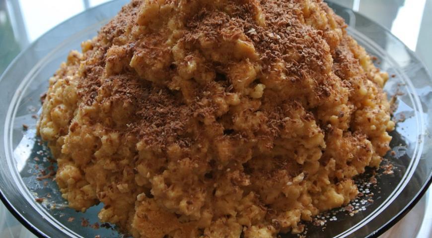 муравейник торт пошаговый рецепт