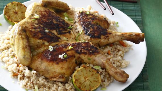Курица в азиатском стиле, пошаговый рецепт с фото