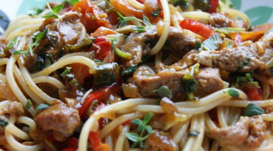 Рецепт Мясо по-азиатски