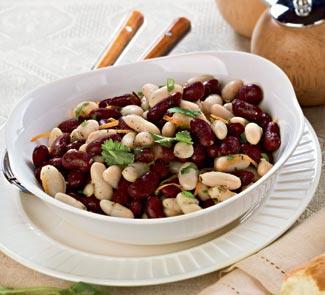 Рецепт Салат из фасоли с итальянской заправкой