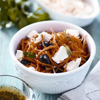 Рецепт Средиземноморский салат из моркови
