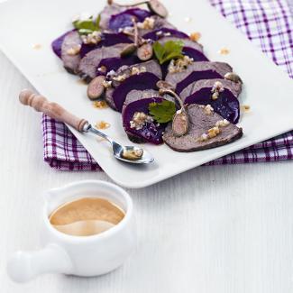 Рецепт Салат из свеклы с говядиной