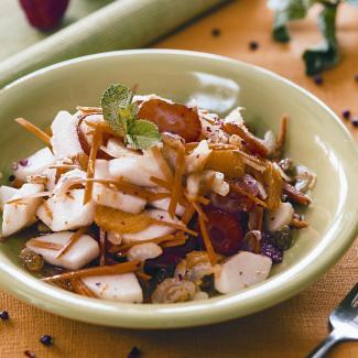Рецепт Салат из фруктов и овощей