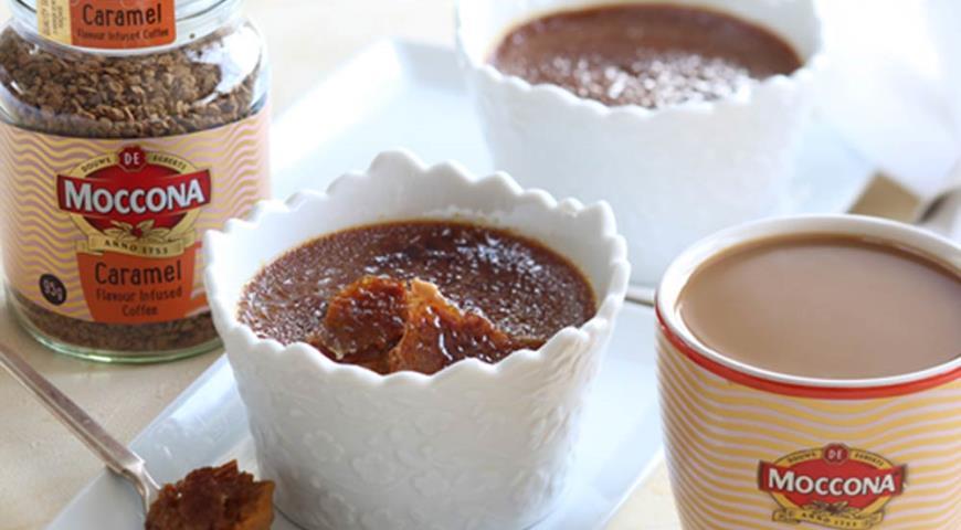 Рецепт Кофейный крем-брюле