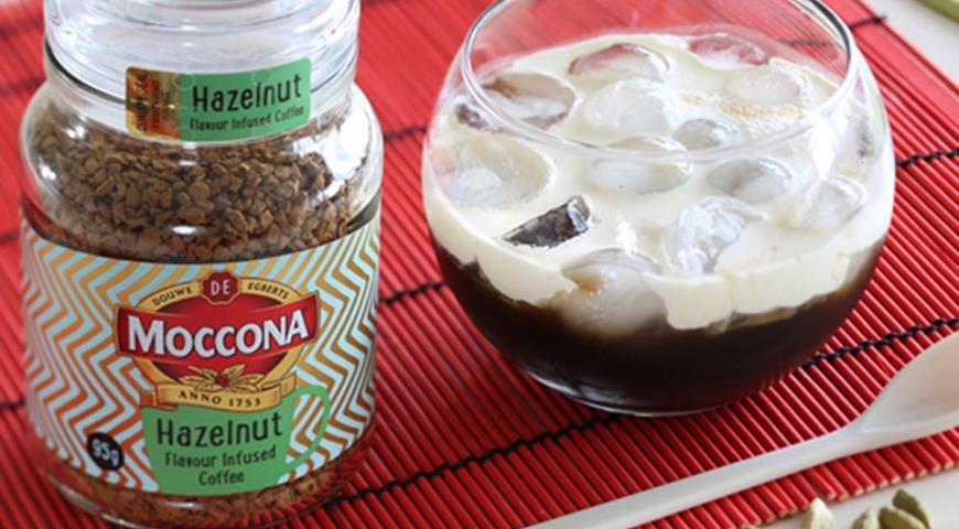Рецепт Ледяной кофе с кардамоном