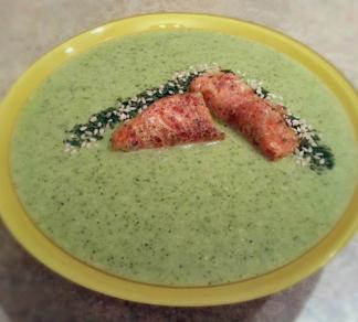 рецепт с фото крем суп из брокколи