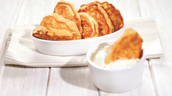 Печеночные блины – кулинарный рецепт