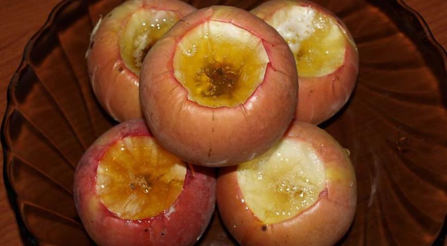 Рецепт Золотые яблочки