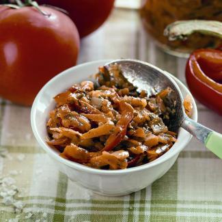 Рецепт Заправка из овощей