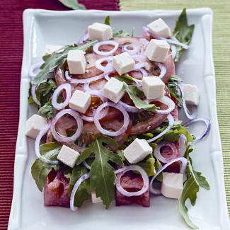 Рецепт Салат из арбуза
