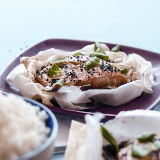 Семга с грибами пошаговый рецепт