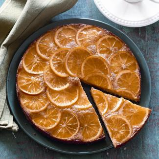 Рецепт Пирог с апельсинами