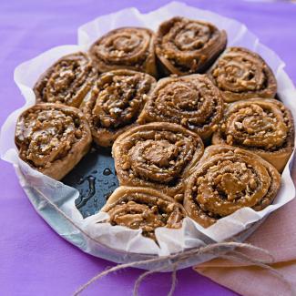 Рецепт Творожные булочки с орехами