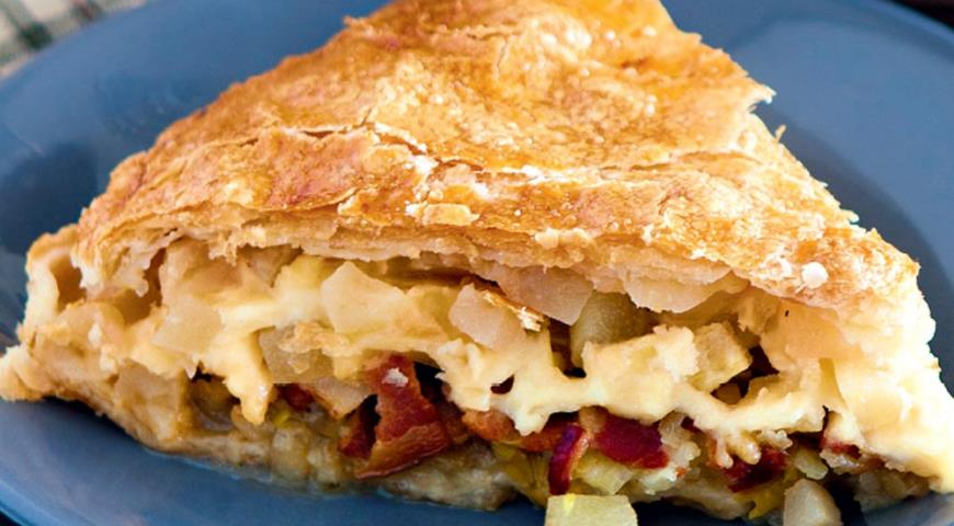 Швейцарський листковий пиріг