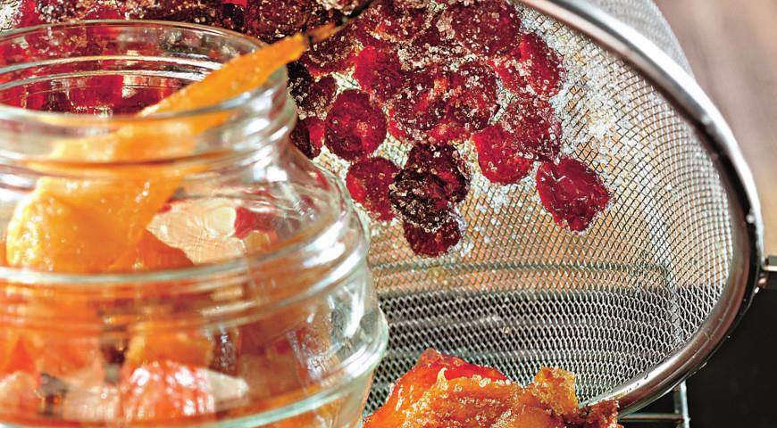 сухое варенье из клубники рецепт