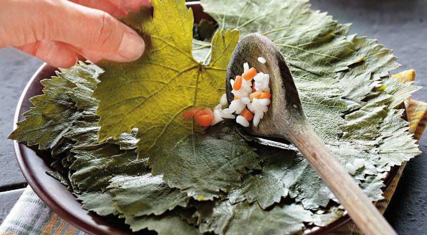 Рецепт Виноградные листья