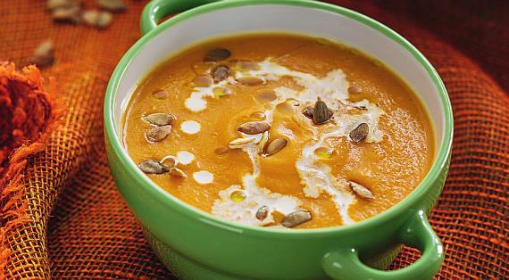 Тыквенный суп классический