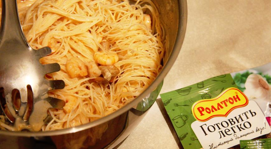 Рецепт Лапша по-тайски
