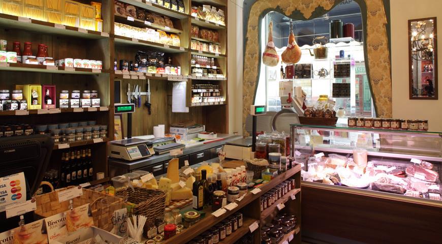 магазины продуктов в италии фото