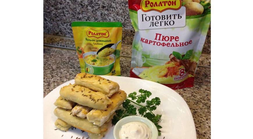 Рецепт Картофельные палочки с тмином