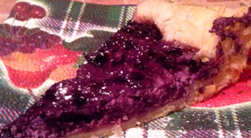 Рецепт Пирог пятиминутка Черничные грезы