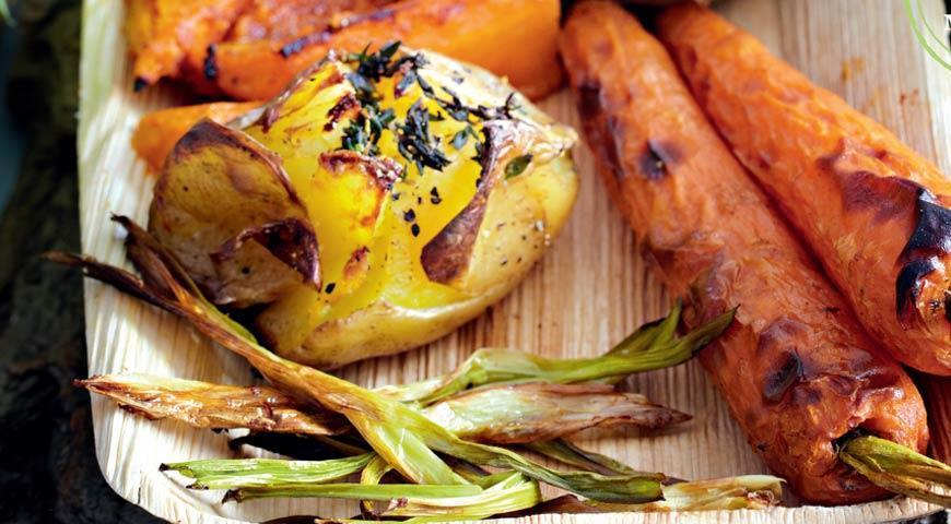 Рецепт Сладкий картофель с паприкой