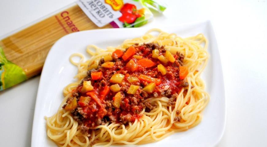 Спагетти болоньезе рецепт пошагово