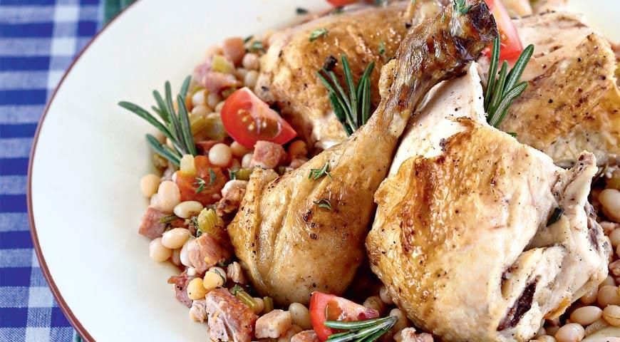 Рецепт Курица с травами по-тоскански