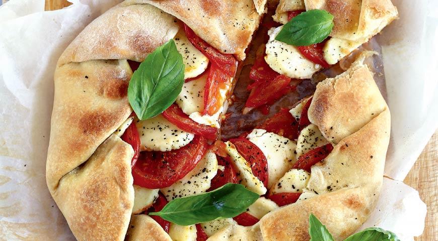 Рецепт Галета с помидорами и сыром