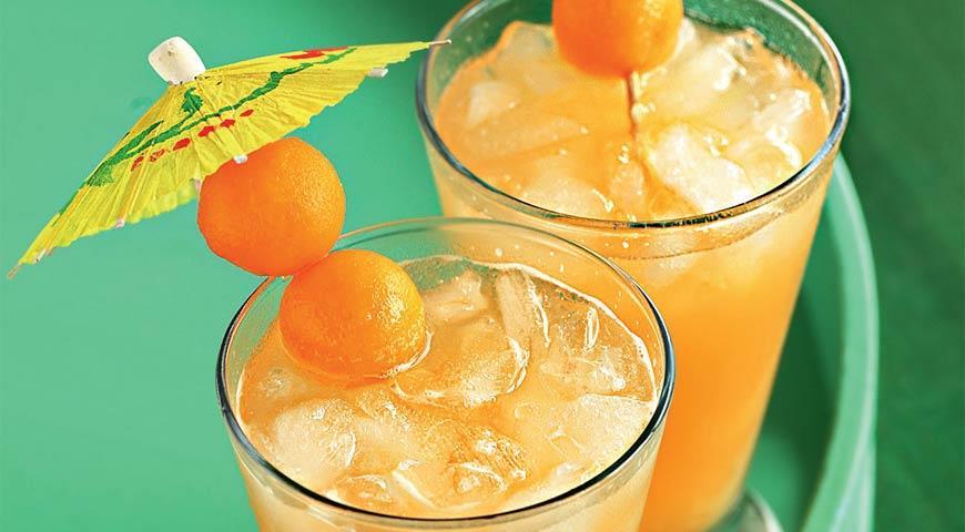 Рецепт Освежающий коктейль из дыни