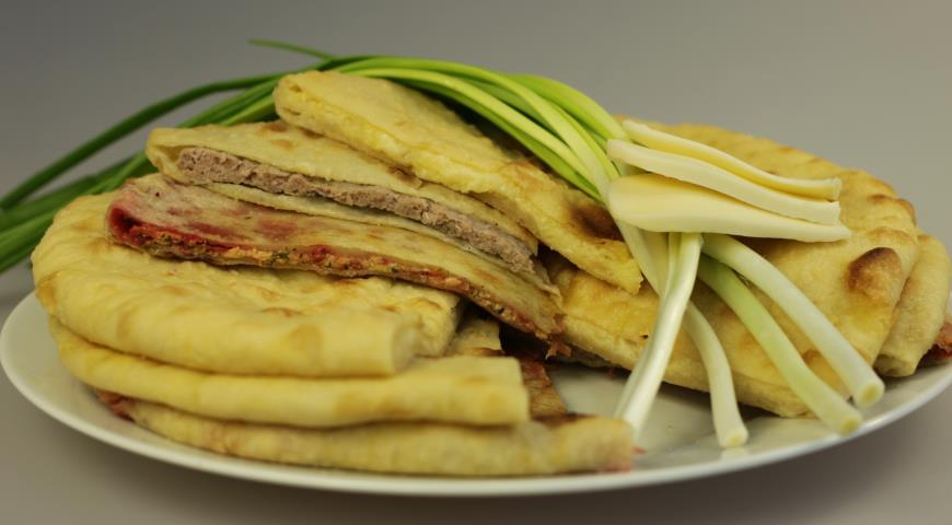 Рецепт Осетинский пирог с мясом