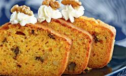 Пряный морковный кекс, выпечка, десерт