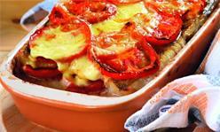 Судак с помидорами и сыром, второе блюдо