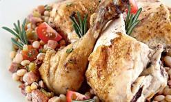 Курица с травами по-тоскански, второе блюдо