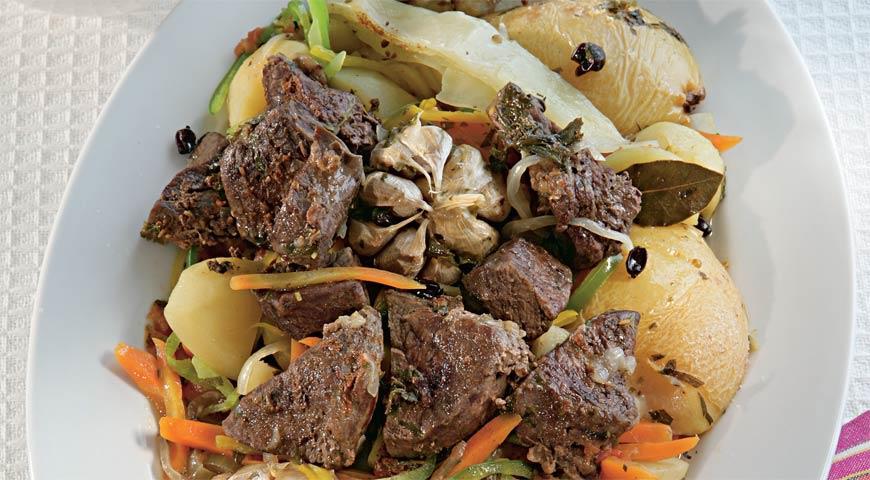 Рецепт Басма из баранины