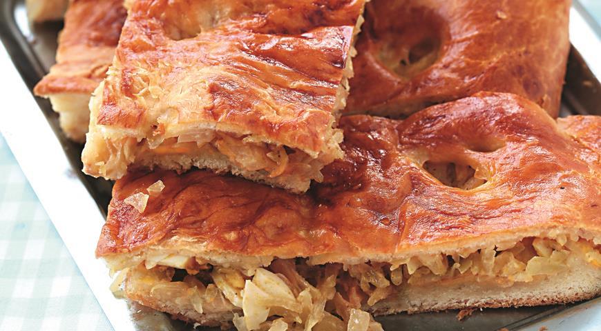 Рецепт Нежный пирог с капустой