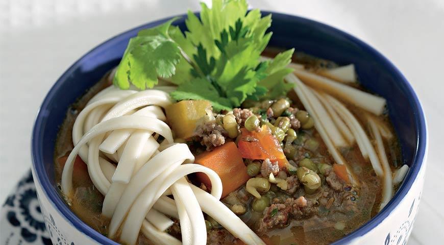 Рецепт Мош угра, машевый суп с лапшой