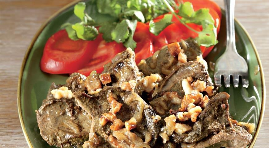 Рецепт Джигар – печенка, тушенная по-узбекски