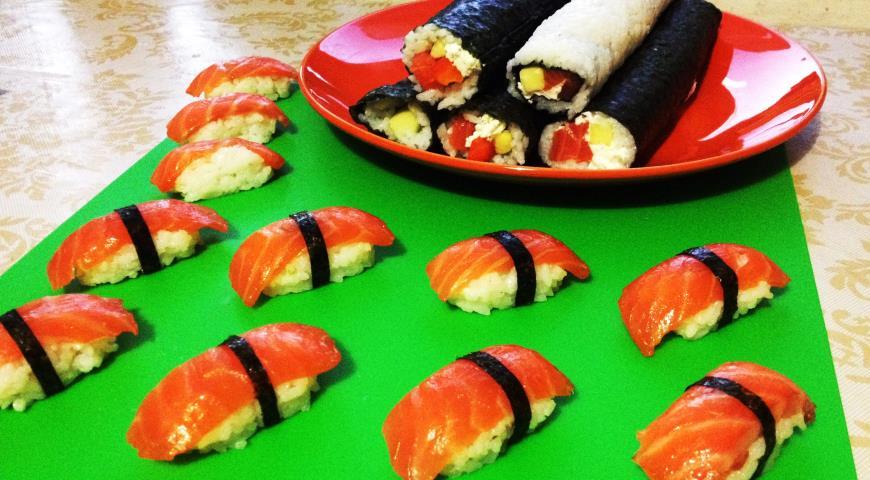 пошаговый рецепт приготовления суши в домашних условиях с фото
