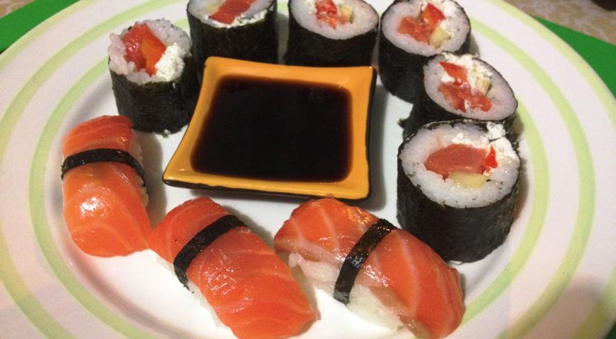 Рецепт Нигири суши и роллы в домашних условиях